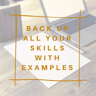 Have Examples to Back up your Claims