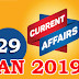 Kerala PSC Daily Malayalam Current Affairs 29 Jan 2019