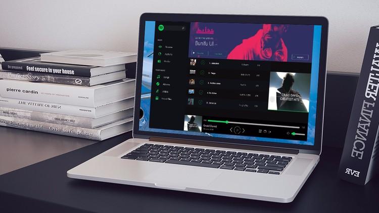 Create a Spotify Clone from Scratch – JavaScript, PHP, MySQL