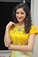 Richa Panai in Yellow Slim Fit Crop top ~ CelebxNext 008.JPG