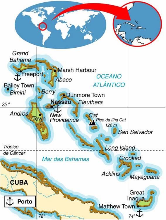 Bahamas | História e Geografia das ilhas Bahamas