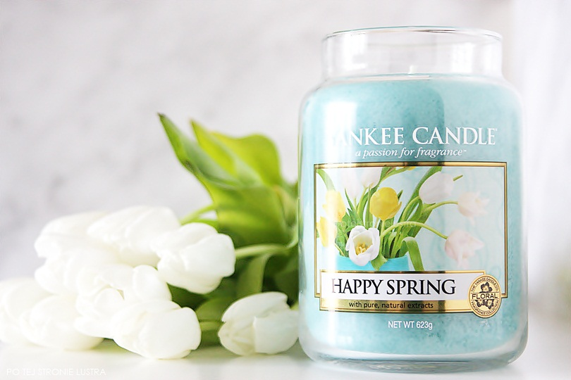 yankee candle happy spring świeca