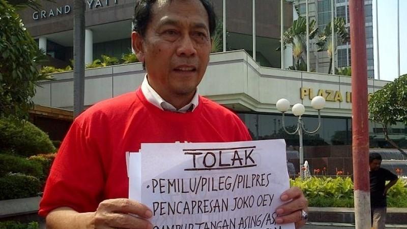 Sri Bintang Pamungkas mengagas gerakan asal bukan Jokowi