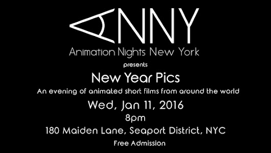 Animation Nights New York presents New Year Pics