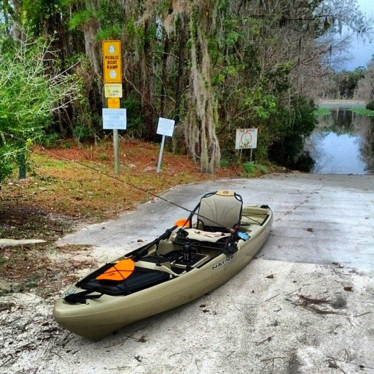 Native Watersports Slayer 12 Trout Creek Park Boat Launch St. Augustine, FL
