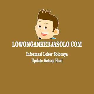 New info Loker Soloraya update setiap hari