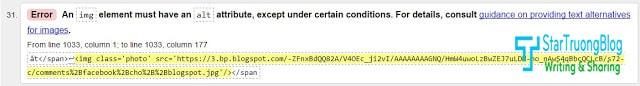 Tối ưu Blogspot - #3 Sửa lỗi HTML5