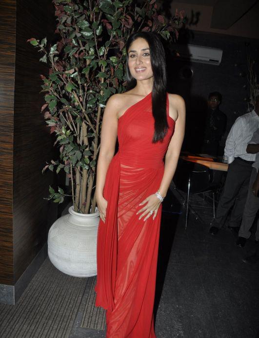 Kareena Kapoor In Hot Red Dress Beautiful