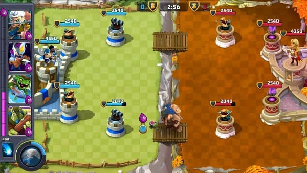 Castle Creeps Battle. Jogos parecidos com Clash Royale (Android e iOS)