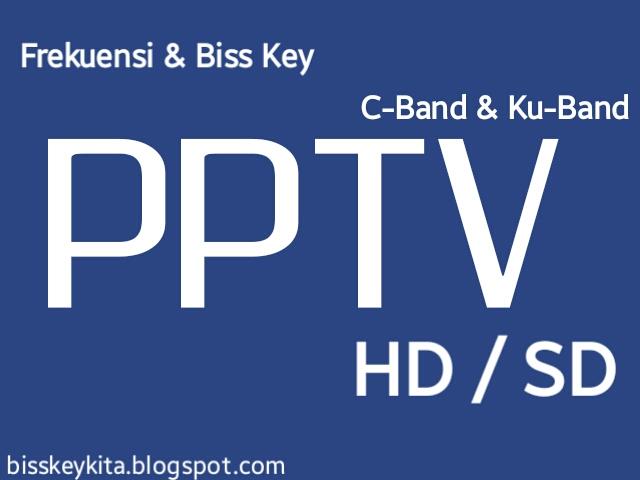 Frekuensi dan Biss Key PPTV HD/SD