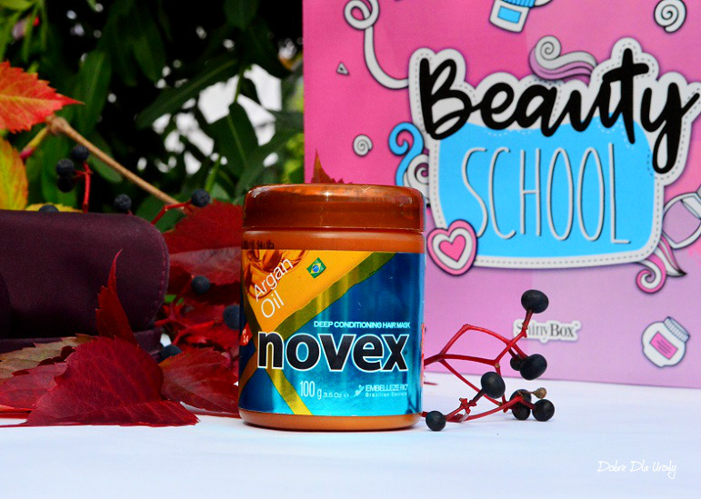 Beauty School by ShinyBox - Novex Deep moisture hair mask Argan Oil