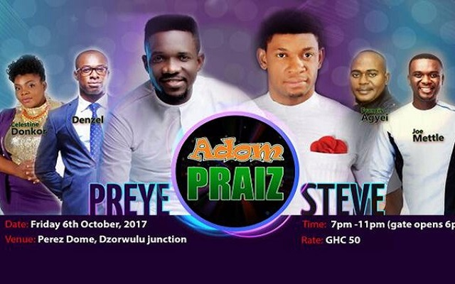 Hundreds queue 3 hours to ascension of praises at Adom Praiz [Watch Live TV, Video & Photos]