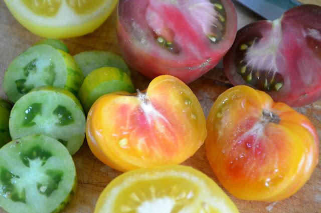 heriloom tomatoes