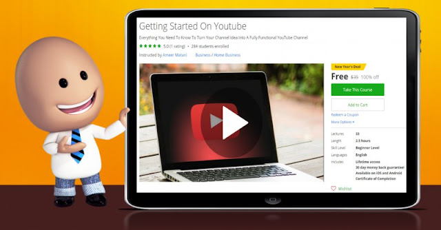 [100% Off] Getting Started On Youtube| Worth 35$