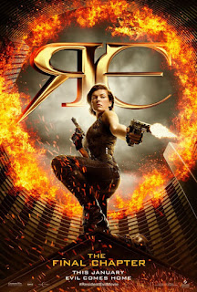 Resident Evil 6 The Final Chapter 2017 movie Poster