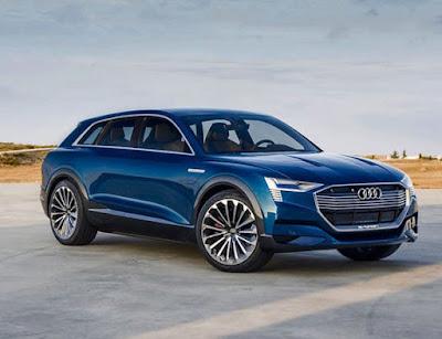 Audi E Tron 2020 A German vehicle rivaling Tesla Model X