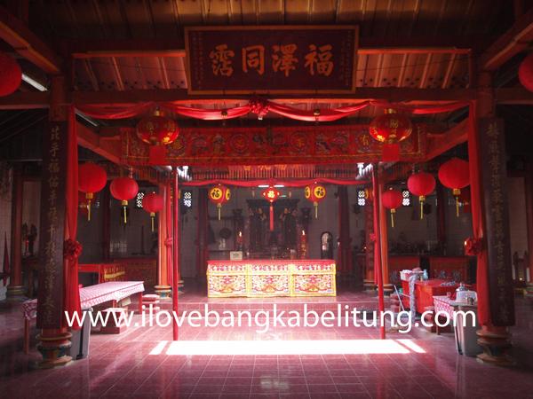 Klenteng Kung Fuk Min dan Masjid Jamik Muntok Bangka Barat