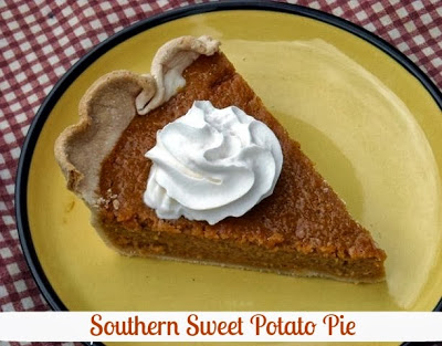 Southern Sweet Potato Pie recipe from Mommy's Kitchen