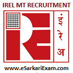 IREL MT Recruitment