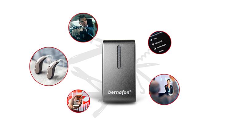 Bernafon SoundClip-A — универсальное средство связи для устройств с Bluetooth