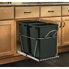 Restaurant Trash Bin Storage Can Cabinet