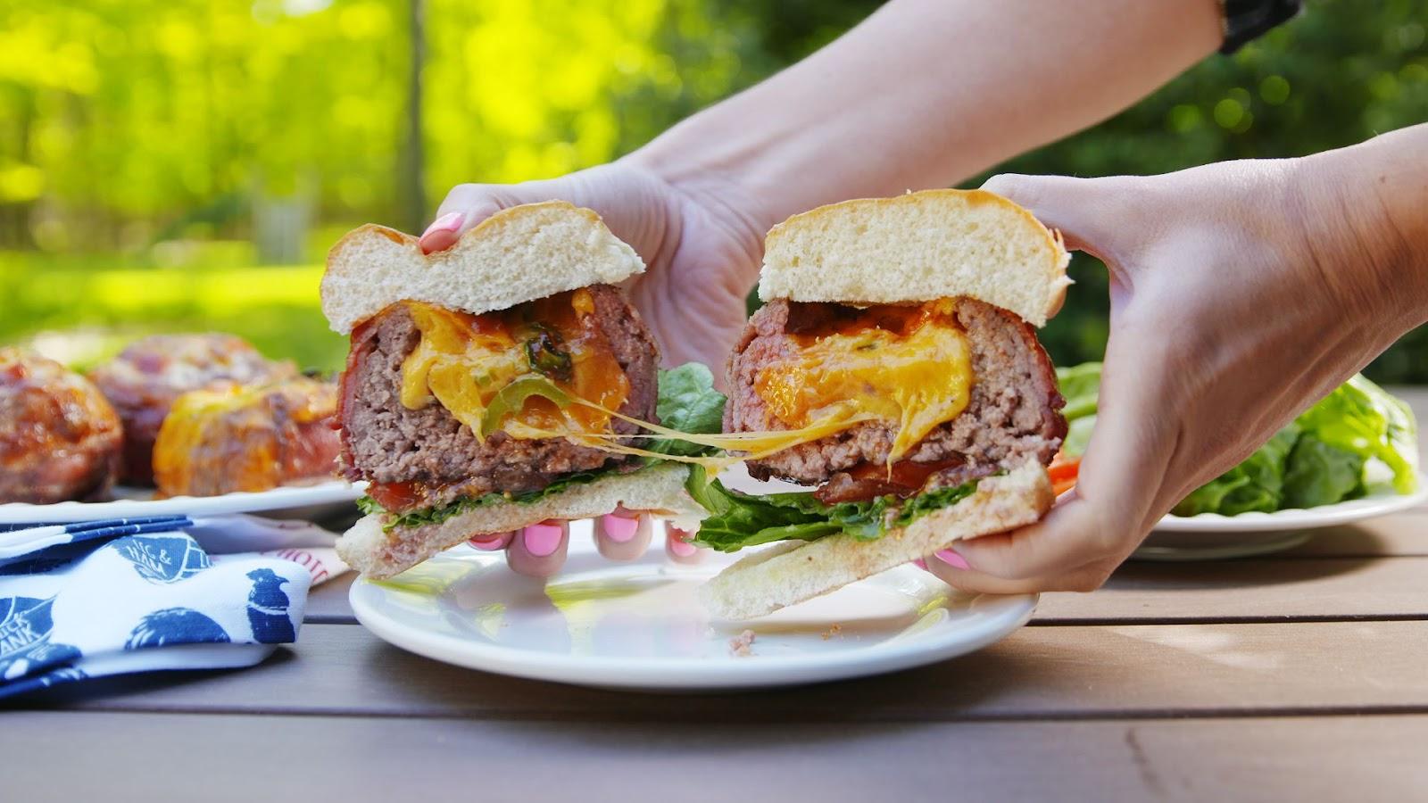 Beer Can Burgers - food-drink-recipes.com