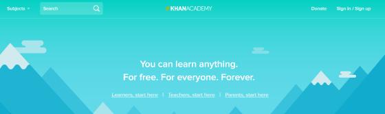 موقع-khan-academy