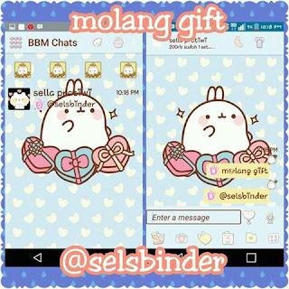 Download BBM MOD Molang Gift.Apk Terbaru 2016