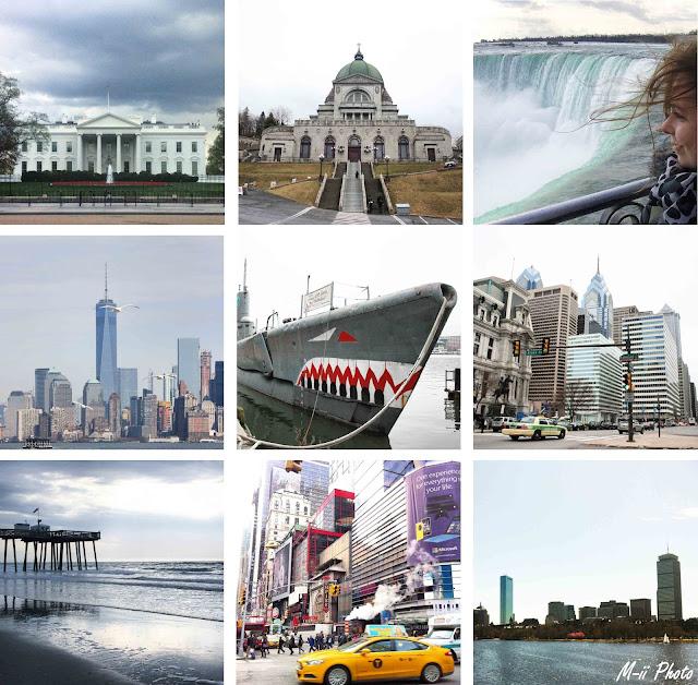 My Travel Background (MTB) : 1 mois aux Etats-Unis et Canada : découverte de la côte Nord-Est