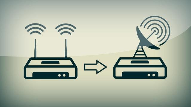 Wifi tăng 2 vạch nhờ sử dụng vỏ lon, cộng với phút chế tác