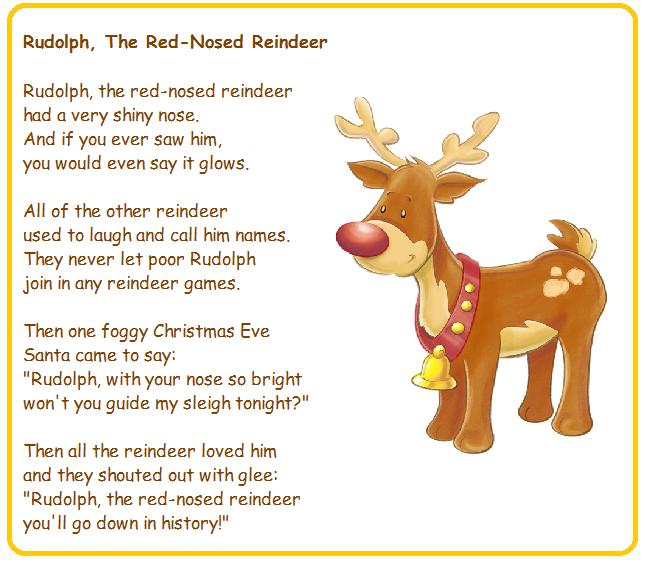 Moje Dwujęzyczne Dziecko Wiersze Dla Dzieci Rudolph The
