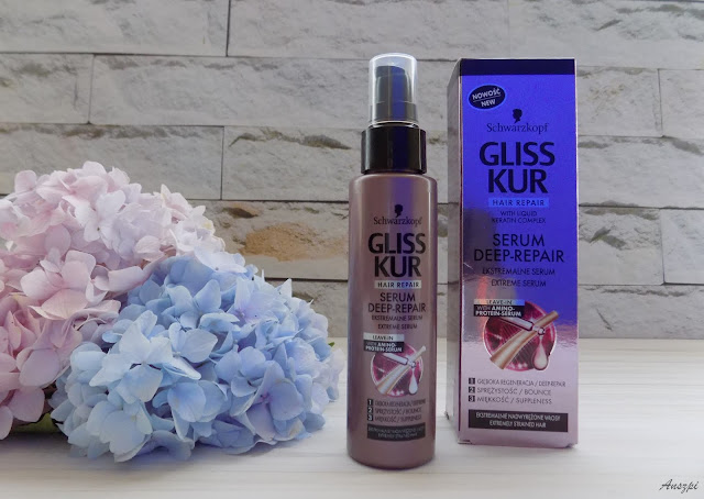 Serum do włosów Deep Repair, Gliss Kur