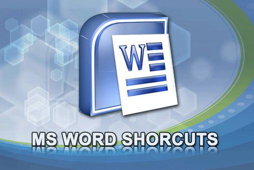 Tombol shortcut microsoft word