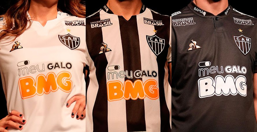 58f50ab9e5 Le Coq Sportif Atlético Mineiro 2019-20 Home, Away & Third Kits Released