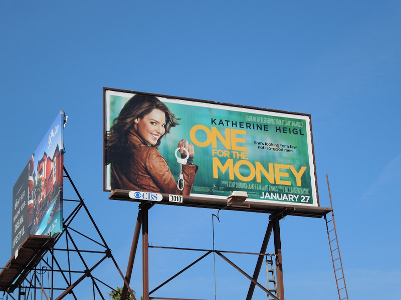 One for the Money movie billboard