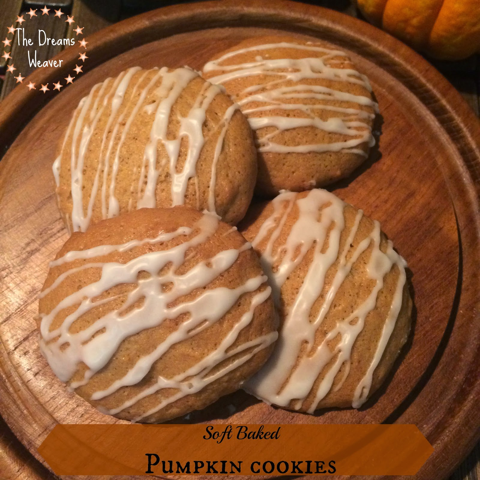 Soft Baked Pumpkin Cookies
