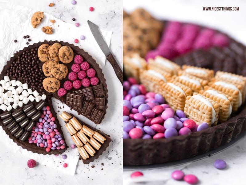 Kuchen mit Süßigkeiten, Candy Tarte, Sweets Cake