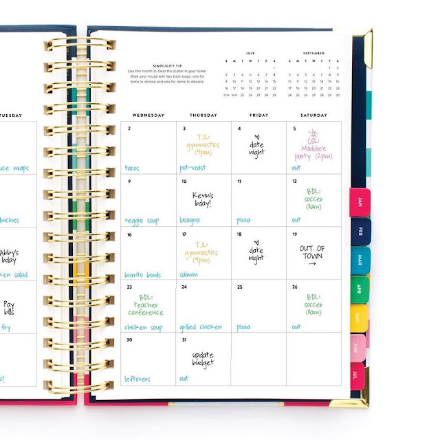 graphic about Emily Ley Planners called the yellow petunia: Emily Ley + The Simplified Planner, Element