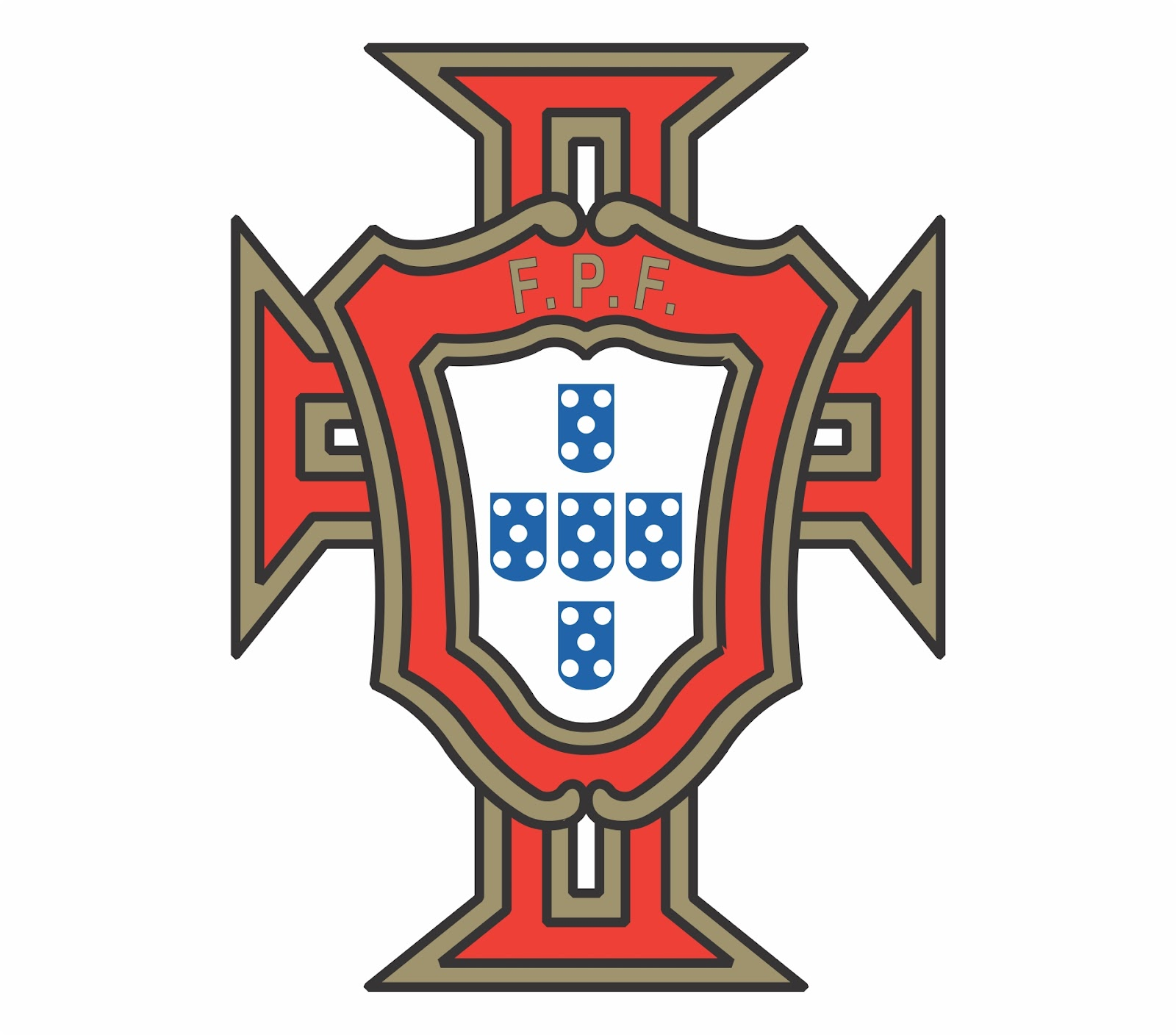 Portugal De Escudo Futbol