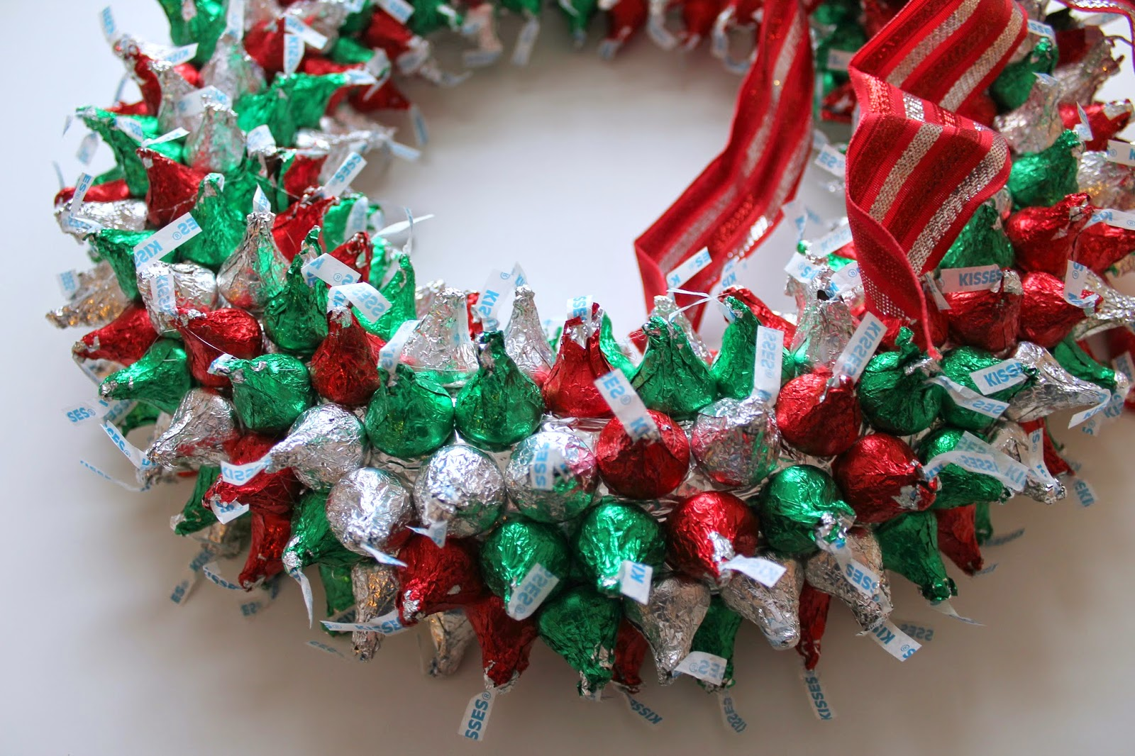 Hersheys Kisses Wreath