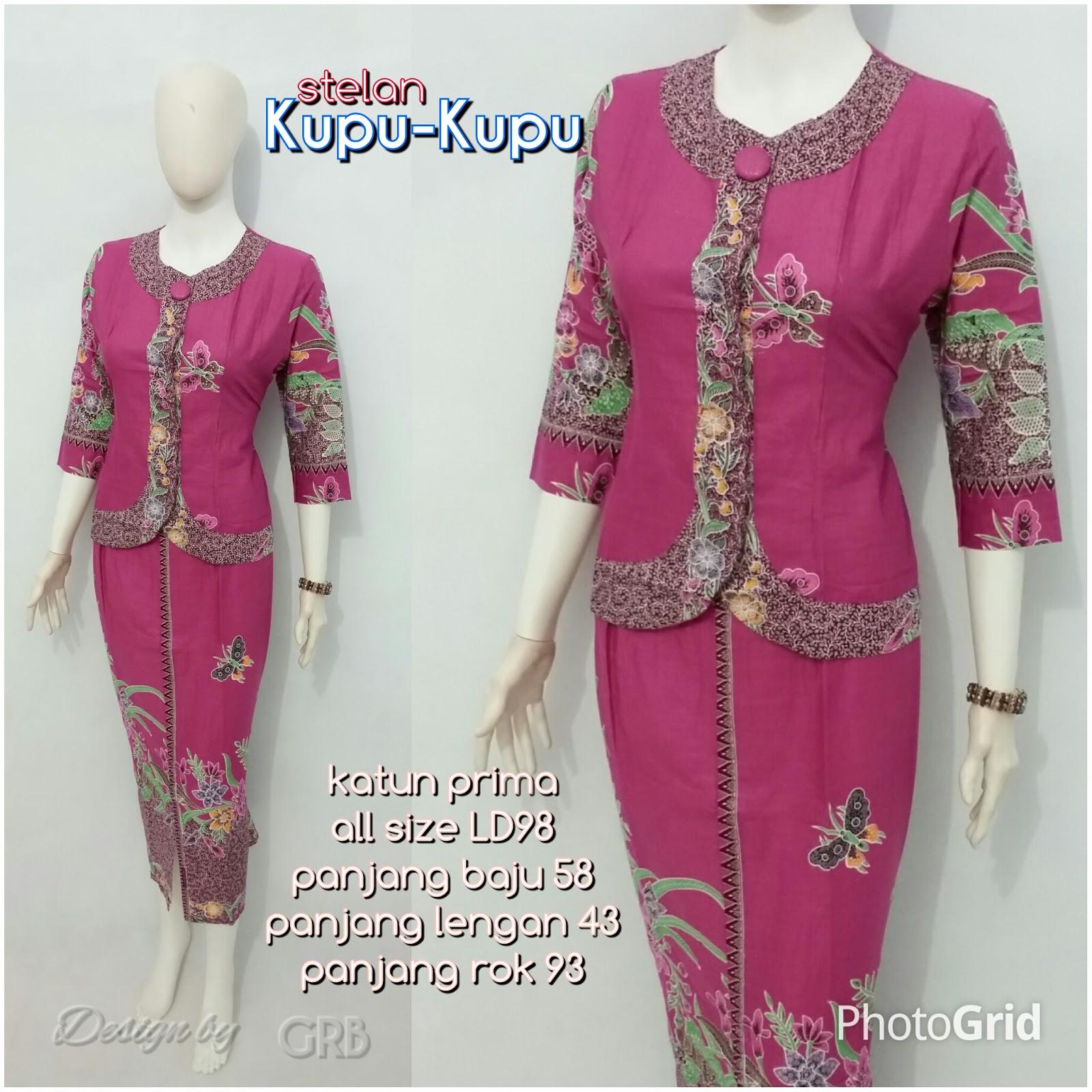 Baju Batik Kerja Wanita d0bb44c632