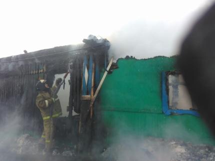 В Кушнаренковском районе при пожаре погиб маленький ребёнок