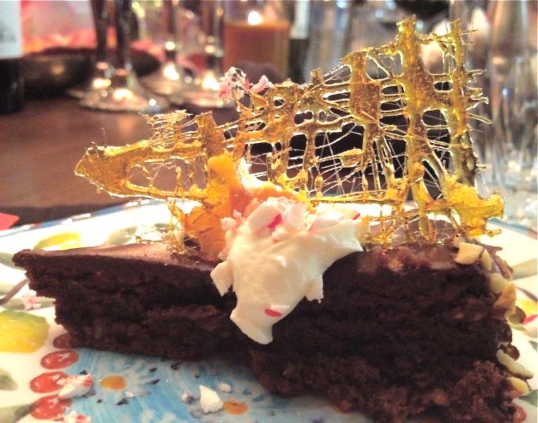 Chocolate and Hazelnut Torte--Torta D'Alassio   RECIPEAS4U