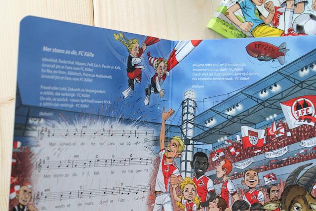 Meine ersten FC Koeln Lieder Stadionhits Neuerscheinung Paenz Verlag Koelsche Lieder fuer Kinder inkl Verlosung Gewinnspiel Jules kleines Freudenhaus