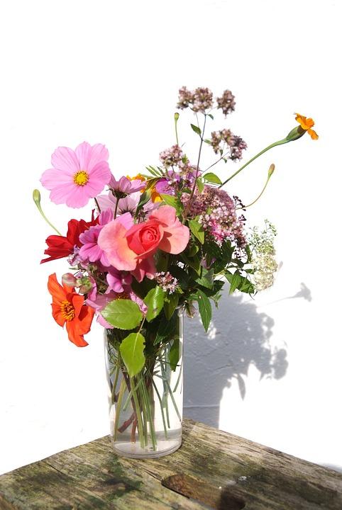pensieri mazzolino fiori