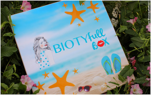 Biotyfull Box juillet 2016  - Blog beauté Les Mousquetettes©