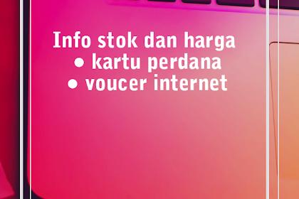 Harga Kartu Perdana, Voucer Internet