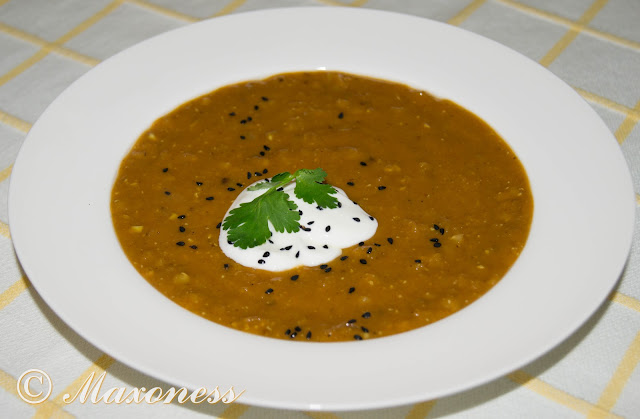 Пряный суп из чечевицы от Гордона Рамзи