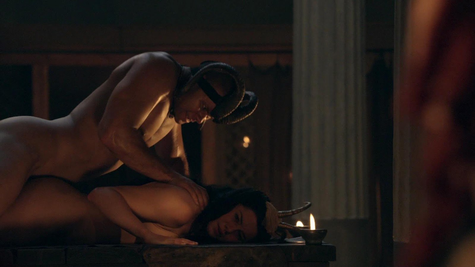 Spartacus hot scene
