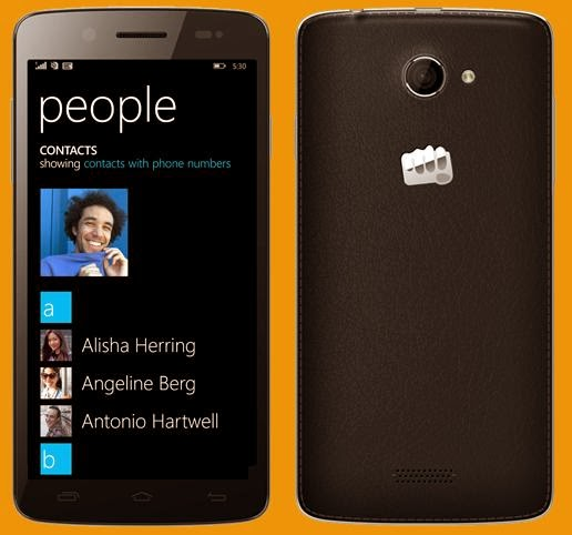 Micromax Unveiled Canvas Win W121, 5-inch HD, Quad Core, WP 8.1 OS